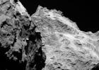 Variedad de terrenos en el cometa de la nave 'Rosetta'