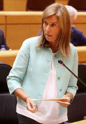 Ana Mato, esta tarde en el Senado.