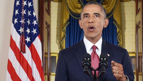 El presidente de Estados Unidos, Barack Obama, en Washington.