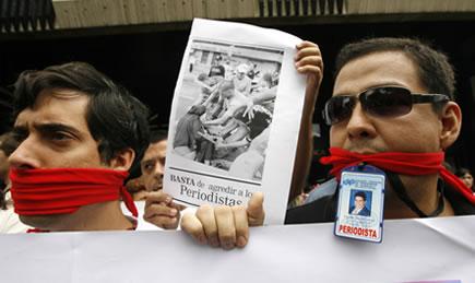 Los periodistas toman la palabra sobre la libertad de prensa