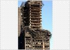 Los empleados de Red.es no vuelven al trabajo por temor a un derrumbe del edificio Windsor