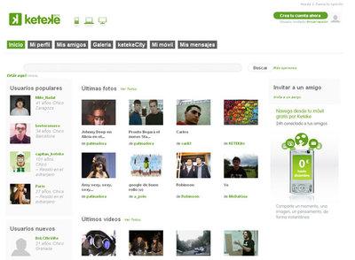 Telefónica crea Keteke, una red social para el móvil