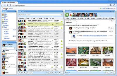 Comparte búsquedas, imágenes, entradas de 'blog', correos, mapas, enlaces y todo lo que se te ocurra con tus amigos, colegas de trabajo o con todo Internet.