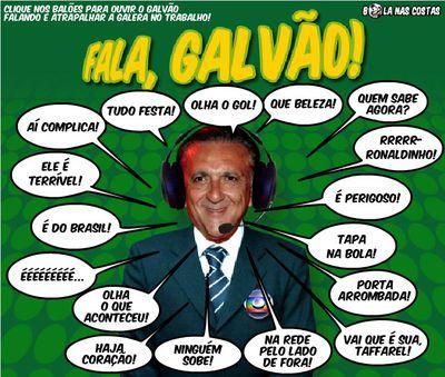 La TV Globo contestó de manera divertida el pedido de los aficionados  y creo un videojuego con las frases más populares del comentarista deportivo