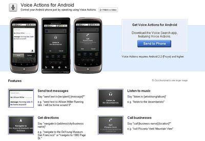 Android se domina con la voz