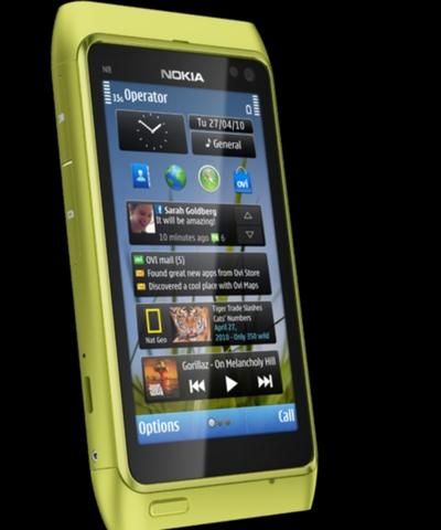 Modelo N8 de Nokia.