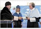 Nicholas Negroponte y Bernardo Hernández, honoris causa por su labor inspiradora