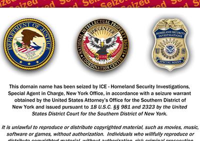 Estados Unidos bloquea rojadirecta.org