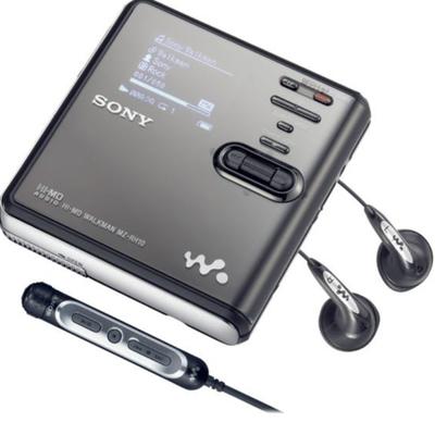 Sony deja de fabricar el MiniDisc Walkman.