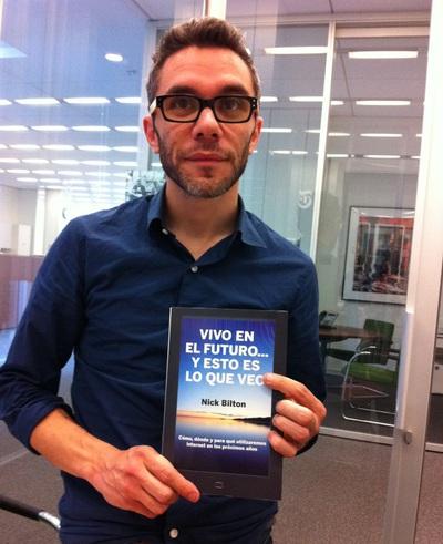 El periodista Nick Bilton, autor del libro