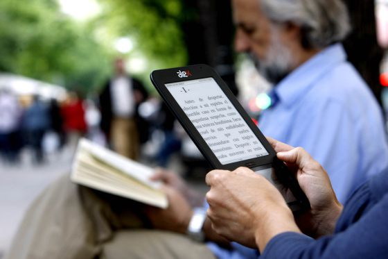 Ebook en el parque