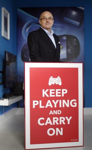 James Armstrong, consejero delegado y presidente de entretenimiento de Sony en España