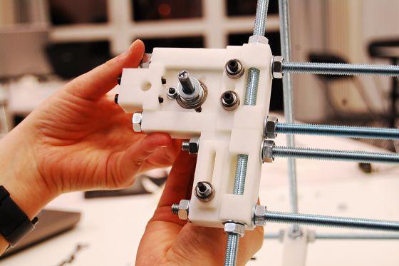 Arteleku-Tabakalera construyó cuatro impresoras 3D.