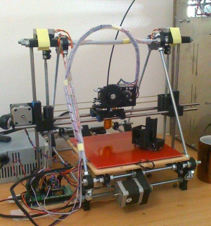 Prusa Mendel es uno de los modelos de RepRap, a la que consideran el Ford T de las impresoras 3D.