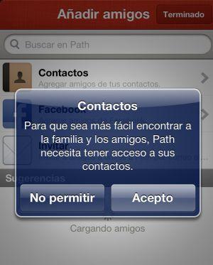 La aplicación Path destapó la brecha de seguridad del iPhone