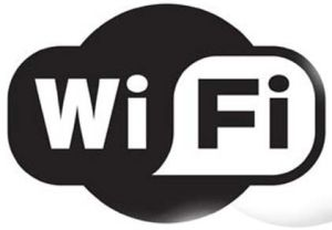Logotipo de la red inalámbrica wifi.