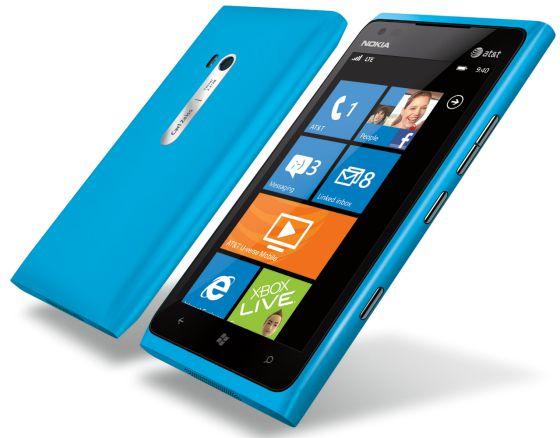 El Lumia 900.