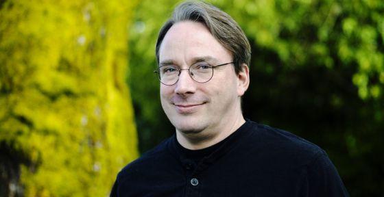Linus Torvalds, creador de Linux.