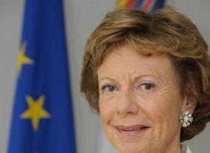 """""""Hemos acabado con una estafa"""", dice la comisaria Neelie Kroes."""