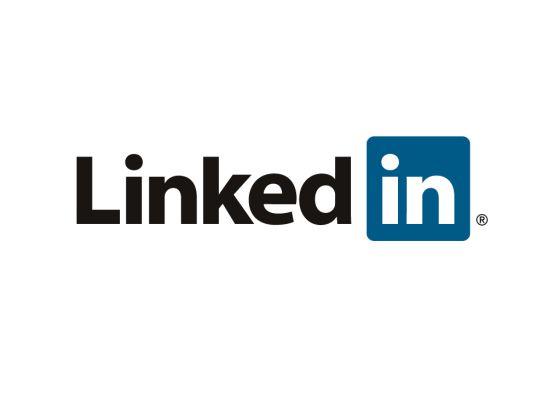 Logotipo de la red social profesional LinkedIn.