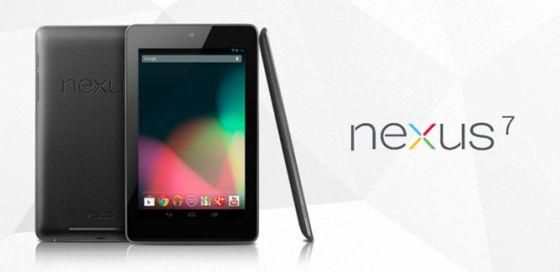 Nexus 7, la tableta de Google fabricada por ASUS