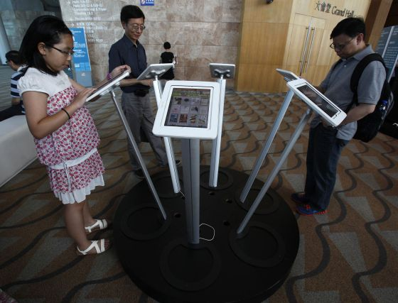 Lectores de libro electrónico en Hong Kong