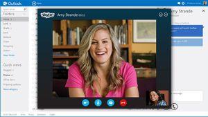 Integración de Skype en Outlook