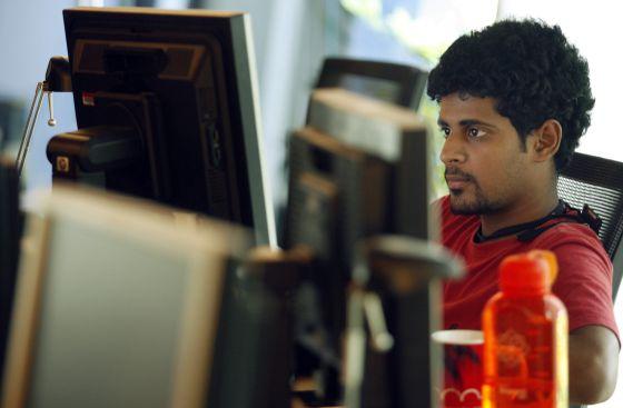Centro de investigación tecnológica en Bangalore (India)