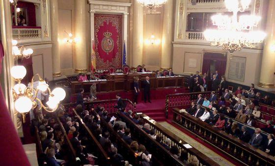 La web del Senado que costó 450.000 euros, reproducida a coste cero
