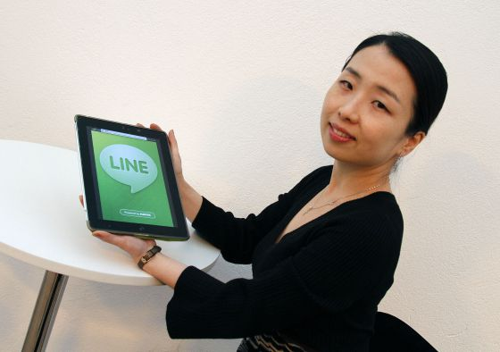 June Cha, responsable de negocio de Line.