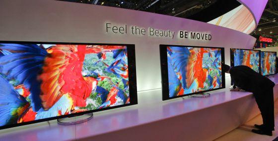Nuevos televisores Sony 4K XBR.