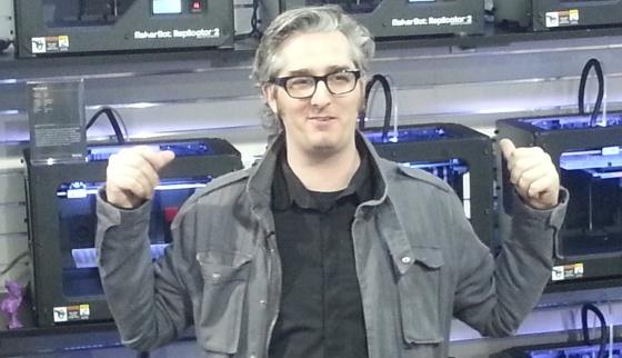 Bre Prettis, jefe de MarketBot.