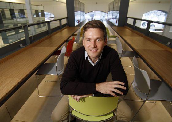 Chris Cunningham en la Casa del Lector de Madrid.