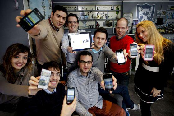 Los creadores de la gramola digital Hiveplay.