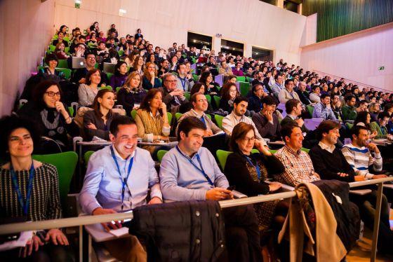 Asistentes al congreso en Burgos