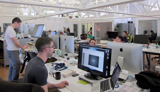 Detalle de las oficinas de Change.org