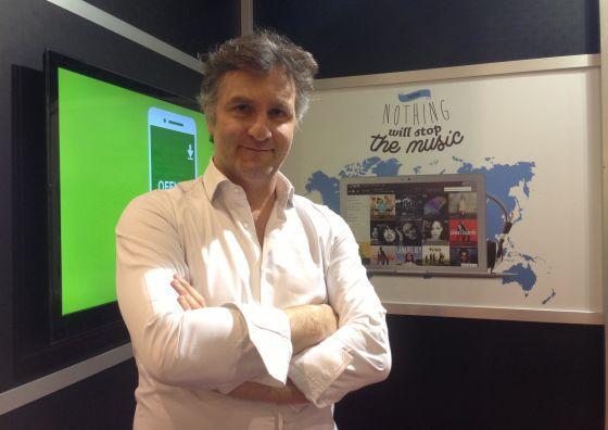 Axel Dauchez, consejero delegado de Deezer.