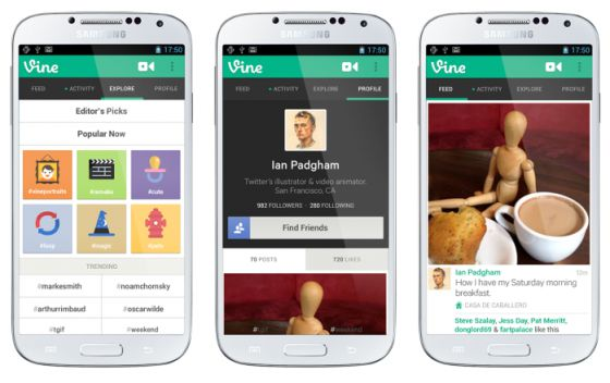 Vine llega a Android