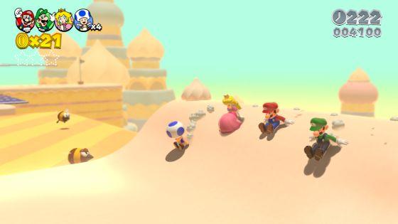 Mario y compañía vuelve a Wii U en tres dimensiones.