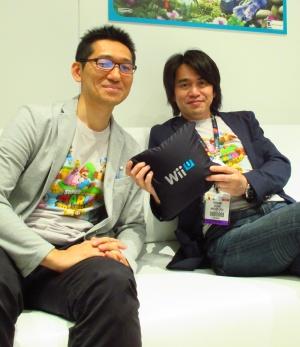De izquierda a derecha, Koichi Hayashida y Yoshiaki Mishima.