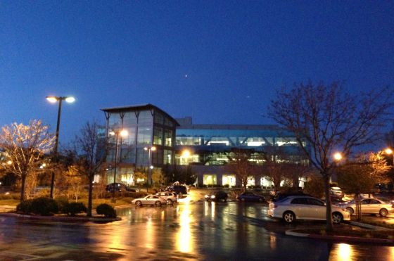 Sede central de NetApp en Sunnyvale (California).