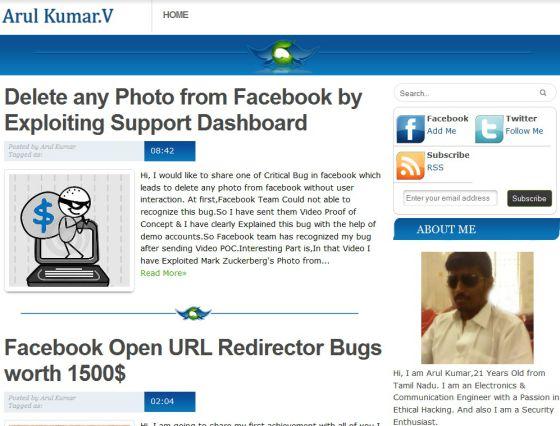 Un fallo de Facebook permite borrar cualquier fotografía de la red
