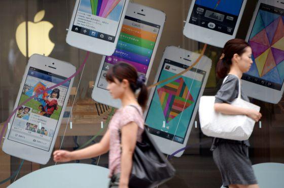 Ofensiva de Apple en Asia