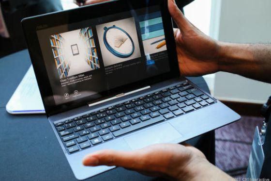 Asus presenta una tableta que se convierte en ordenador