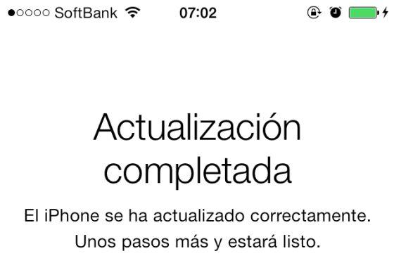 El 41% de los aparatos Apple se ha adaptado al iOS 7 en dos días