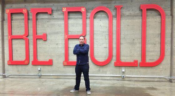Joe Fernandez, consejero delegado de Klout, en la sede de san Francisco.