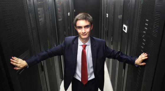 Andrés Contreras, el niño del 'big data'