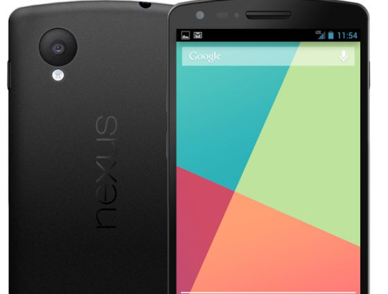 De Nexus 4 a Nexus 5