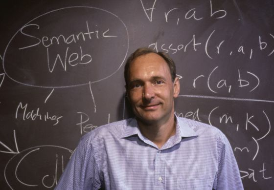 Tim Berners-Lee, inventor de la World Wide Web, fotografiado en 1999.