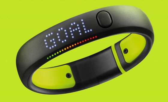 La pulsera de Nike.